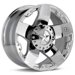 KMC-XD Series ROCKSTAR Chrome 17X9 8-165.1 Wheel