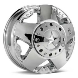KMC-XD Series ROCKSTAR Dually Chrome Front 16X6 8-170 Wheel
