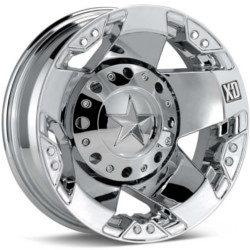 KMC-XD Series ROCKSTAR Dually Chrome Rear 16X6 8-170 Wheel