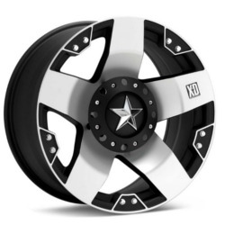 KMC-XD Series ROCKSTAR Machined Face 17X8 6-135 Wheel