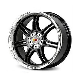 Momo RPM Black 16X7 4-100 Wheel