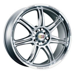 Momo RPM Silver 16X7 4-100 Wheel