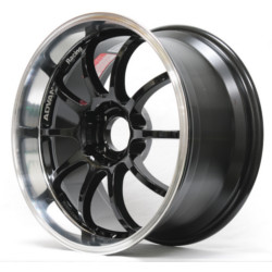 Advan RS-D Machining Black Wheel