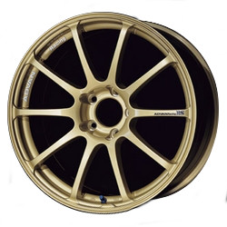 Advan RS Gold 18X9 5-114.3 Wheel