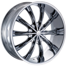 Red Sport RSW22 Chrome 24X10 5-120 Wheel