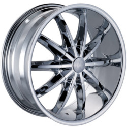 Red Sport RSW44 Chrome 20X9 5-108 Wheel