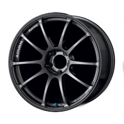 Advan RZ Dark Gunmetal 18X8 5-114.3 Wheel