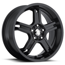 Katana Racing RZ5 Black 17X7 5-100 Wheel