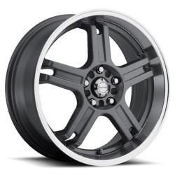 Katana Racing RZ5 Gunmetal 19X8 4-114.3 Wheel