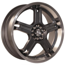 Katana Racing RZ5 Hyperblack 17X7 5-114.3 Wheel