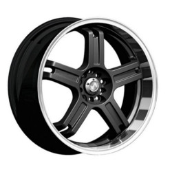 Katana Racing RZ5 Matte Black 17X7 4-114.3 Wheel