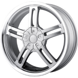 Sacchi S12 Hypersilver/Machined 16X7 4-100 Wheel