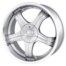 Sacchi S22 Hypersilver/Machined 16X7 4-114.3 Wheel