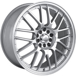 Sacchi S25 Hypersilver/Machined 18X8 4-100 Wheel