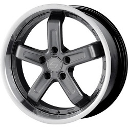 Sacchi S32 Hyperblack/Machined 17X8 4-100 Wheel