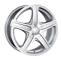 Sacchi S48 Hypersilver/Machined 15X7 4-98 Wheel
