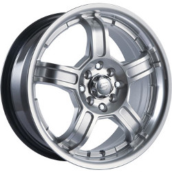 Sacchi S52 Hypersilver/Machined 16X7 4-100 Wheel
