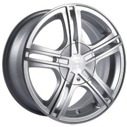 Sacchi S62 Hypersilver/Machined 17X7 4-100 Wheel
