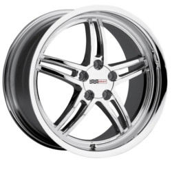 Verde SCORPION Chrome 17X8 4-114.3 Wheel