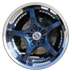 Volk Racing SF CHALLENGE Magnesium Blue 19X11 5-114.3 Wheel