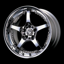 Volk Racing SF CHALLENGE Mercury Silver 18X9 5-114.3 Wheel