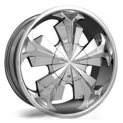 Strada SHOCK Chrome 20X9 5-115 Wheel