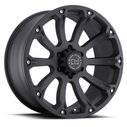 Black Rhino SIDEWINDER Matte Black 18X9 6-139.7 Wheel