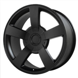 Wheel Replicas SILVERADO SS Matte Black 22X10 6-139.7 Wheel
