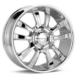 KMC SKITCH Chrome 22X9 6-135 Wheel