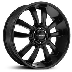 KMC SKITCH Satin Black 20X9 5-150 Wheel