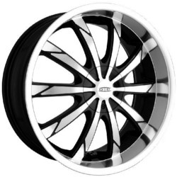 DIP SLACK Black/Machined Wheel