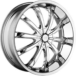 DIP SLACK Chrome 20X9 5-120 Wheel