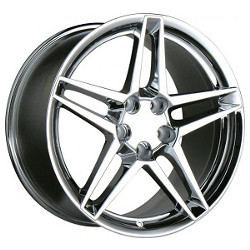 Ace SLICK Chrome 19X11 5-120.7 Wheel