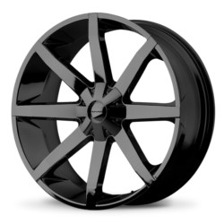 KMC SLIDE Gloss Black 20X9 5-112 Wheel