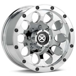 American Racing Atx SLOT Chrome 17X8 8-180 Wheel