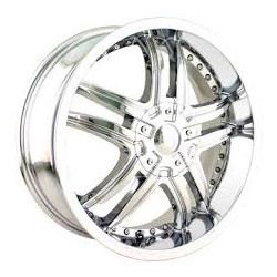 Mazzi SMOKE Chrome 20X9 5-114.3 Wheel
