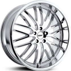 TSW SNETTERTON Chrome 22X9 5-120 Wheel