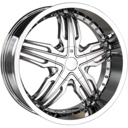 Veloche SOLAR Chrome 18X8 5-115 Wheel
