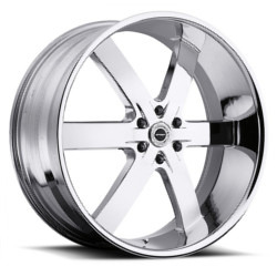 Strada SPAGO Chrome 24X10 6-135 Wheel