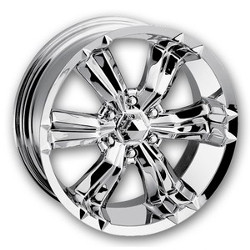 Mazzi SPHINX Chrome 17X8 5-127 Wheel
