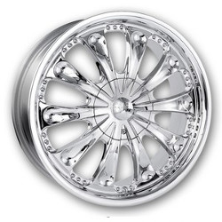 Mazzi SPOON Chrome 18X8 5-114.3 Wheel