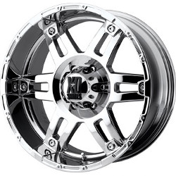 KMC-XD Series SPY Chrome 17X8 6-139.7 Wheel