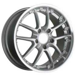 Ace SPYDER Silver 18X9 5-130 Wheel