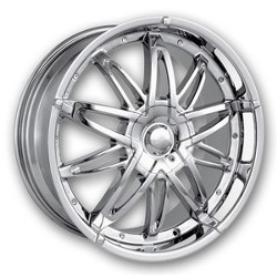 Mazzi STAR Chrome 20X9 5-120 Wheel