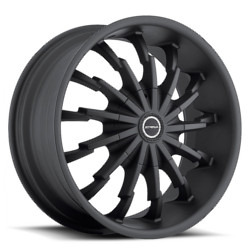 Strada STILETTO Stealth Black 20X9 5-115 Wheel