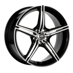 Enkei STR5 Black Machined 17X7 5-114.3 Wheel