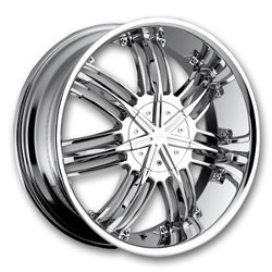 Strada STREGA Chrome Wheel