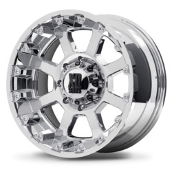 KMC-XD Series STRIKE Chrome 20X10 6-139.7 Wheel