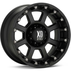 KMC-XD Series STRIKE Matte Black 18X10 5-139.7 Wheel