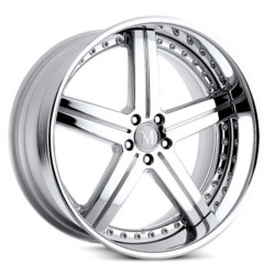 Mandrus STUTTGART Chrome 20X11 5-112 Wheel